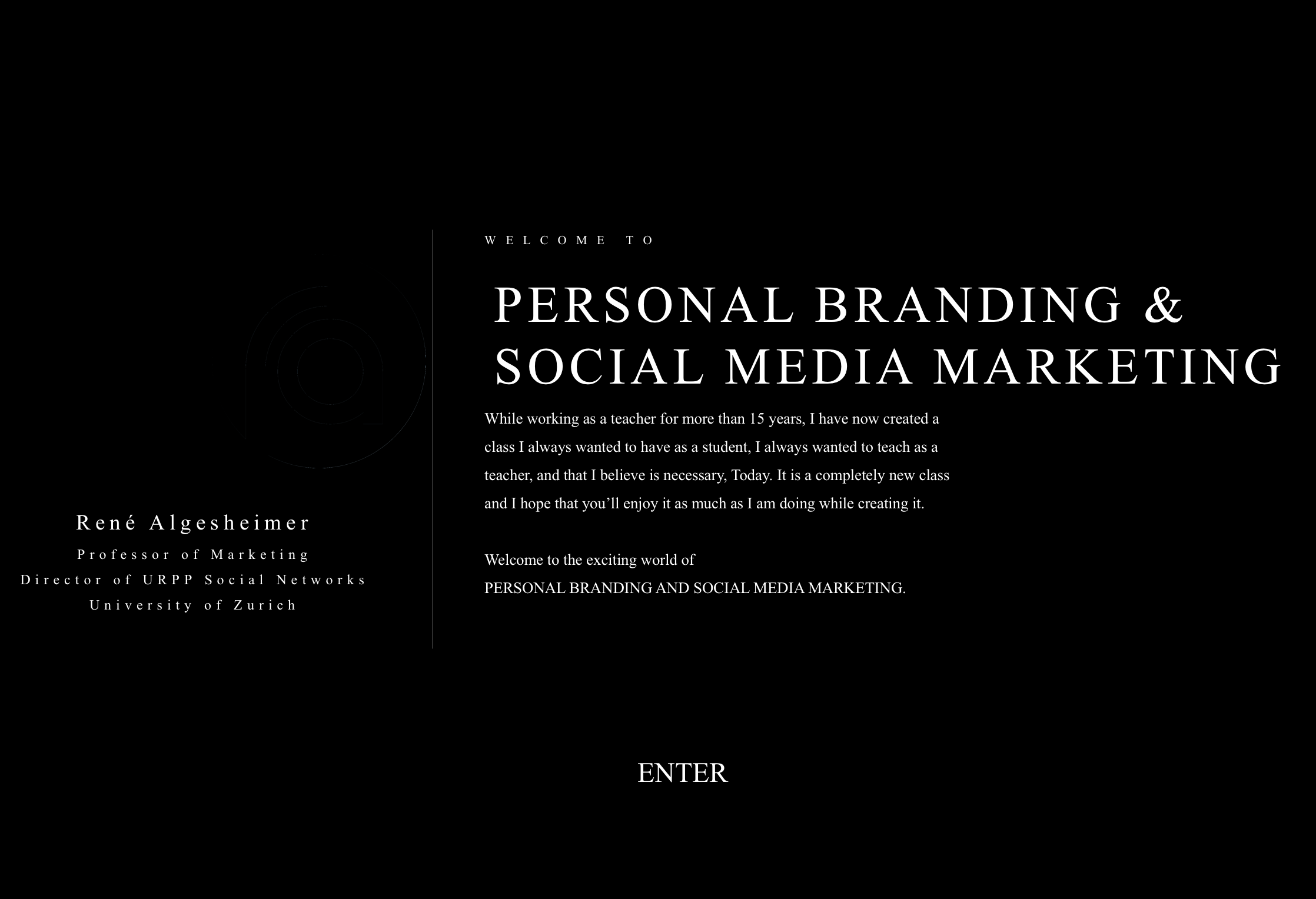 Personal Branding & Social Media Marketing