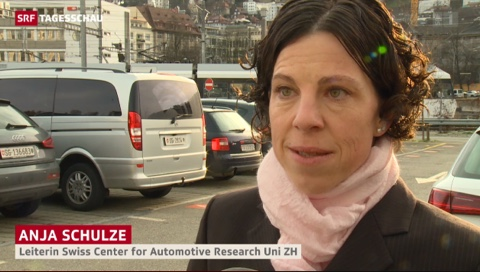Anja Schulze comments in SRF Tageschau